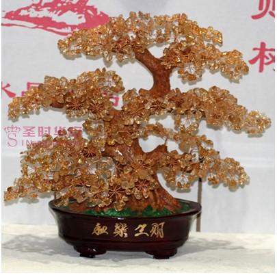 黄水晶发财树—连云港珠宝协会,连云港市金银珠宝玉石